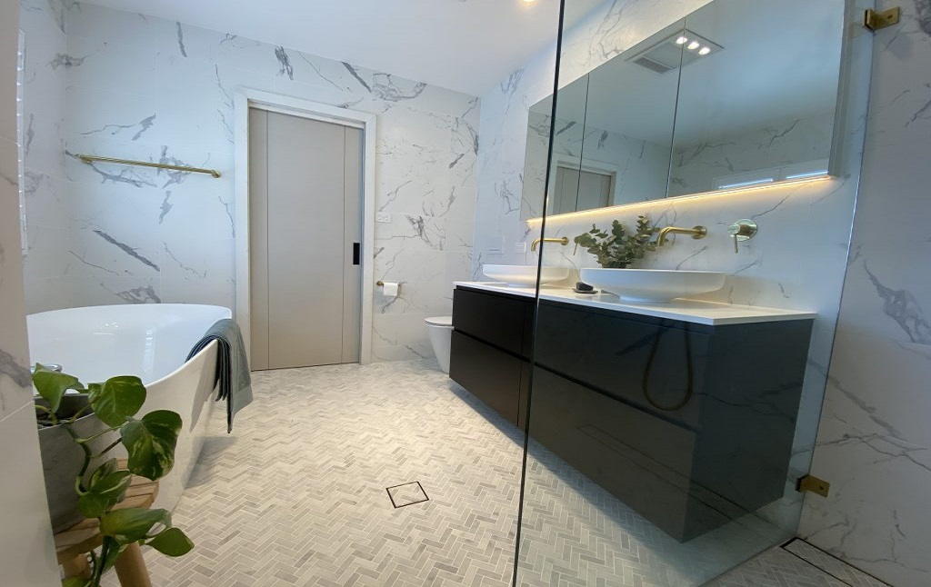 Bathroom in Sutherland Shire After Renovation Done