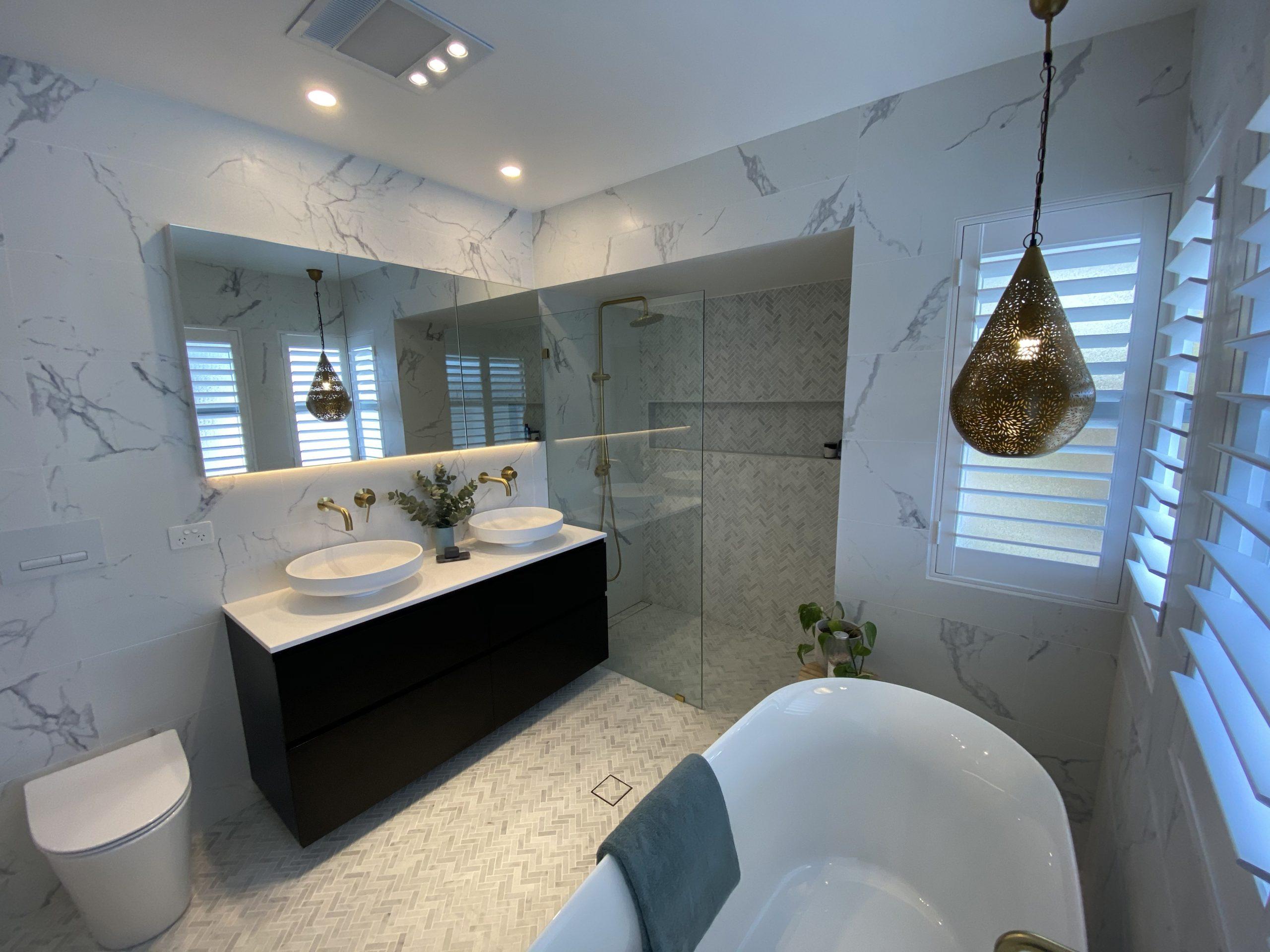 Caringbah South Sutherland Shire Modern Bathroom Renovations