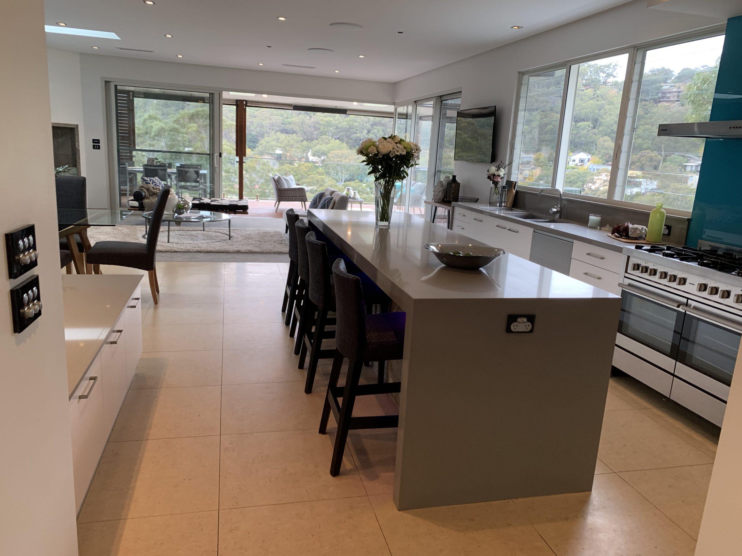Woronora Sutherland Shire New Build Modern Kitchen