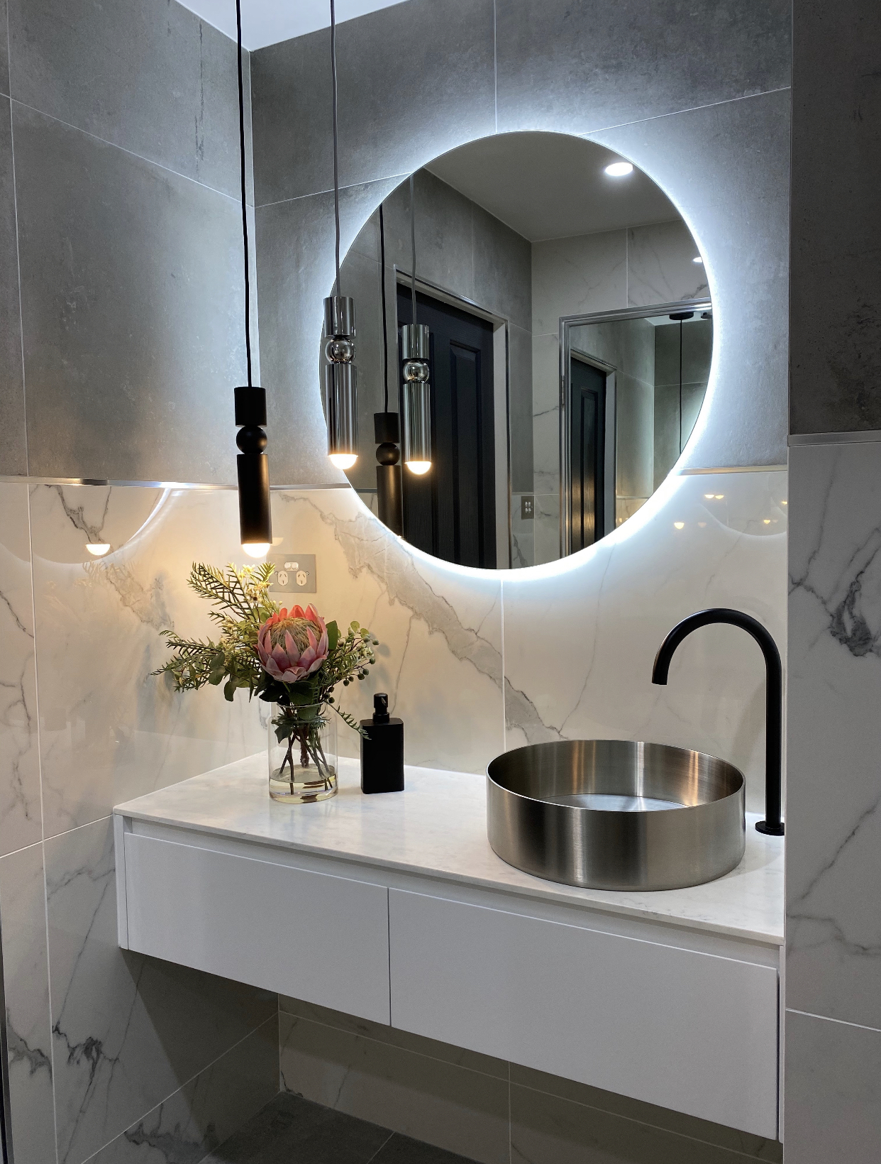 Deep Water Sutherland Shire Bathroom Vanity Renovation