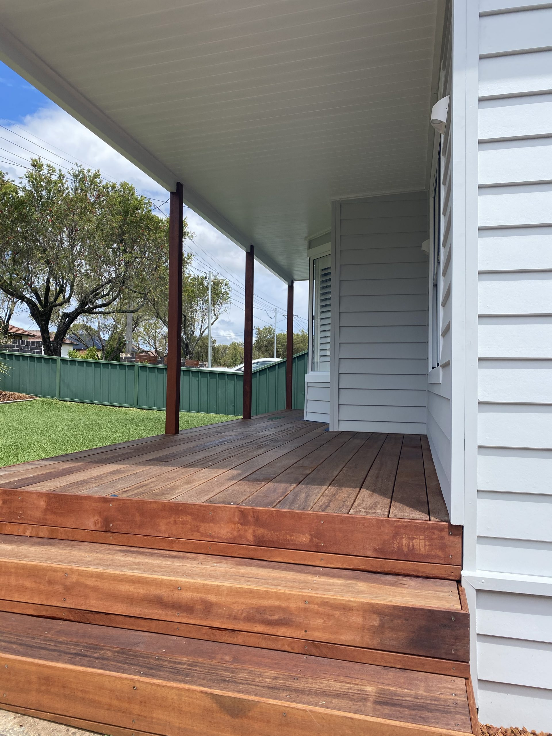 Panania Georges River Decking