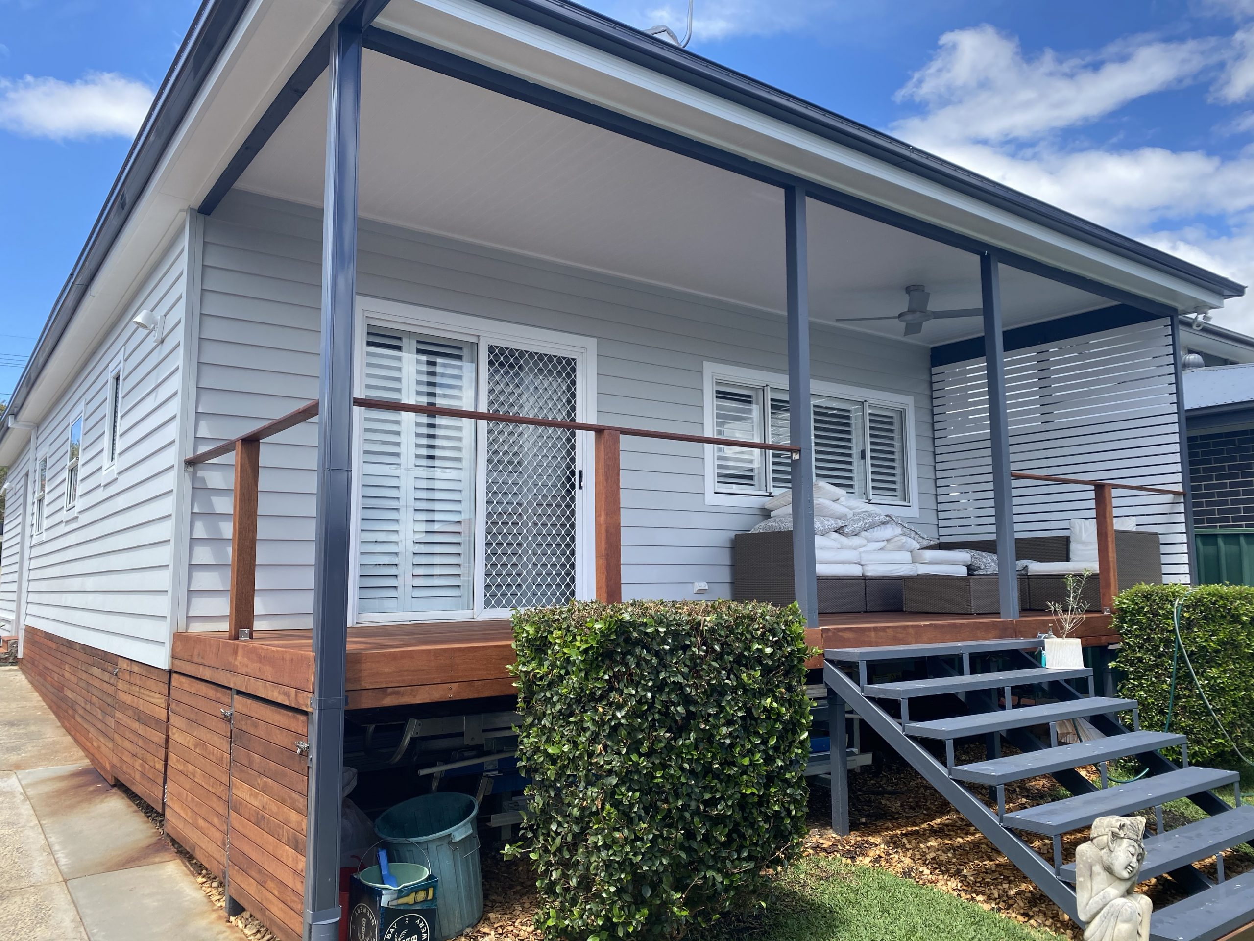 Panania Georges River External Decking